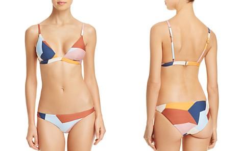 Vitamin A Moss Bikini Top & Giselle Hipster Bikini Bottom - Bloomingdale's_2