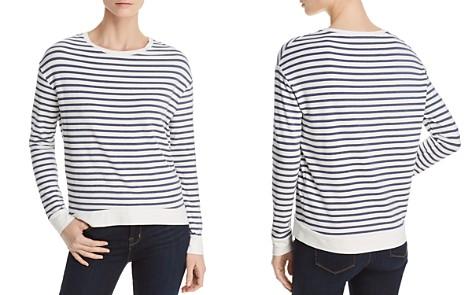 Majestic Filatures Lightweight Striped Sweatshirt - Bloomingdale's_2