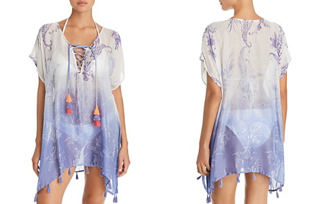 Surf Gypsy Ombré Paisley Print Tunic Swim Cover-Up - Bloomingdale's_2