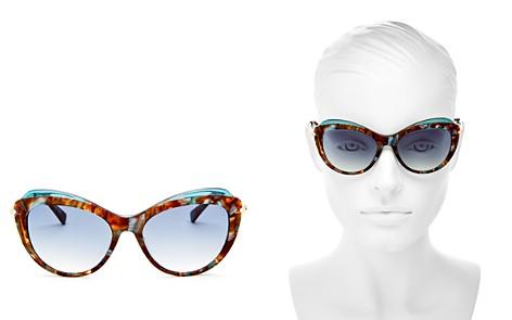 Longchamp Women's Roseau Family Cat Eye Sunglasses, 55mm - Bloomingdale's_2