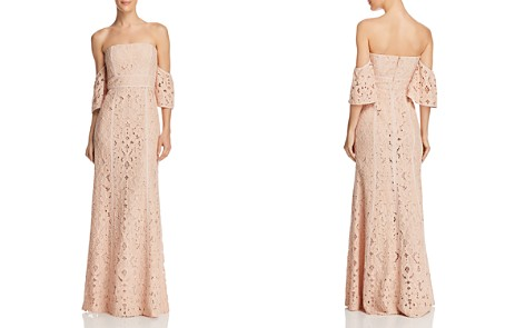 BCBGMAXAZRIA Off-the-Shoulder Gown - Bloomingdale's_2