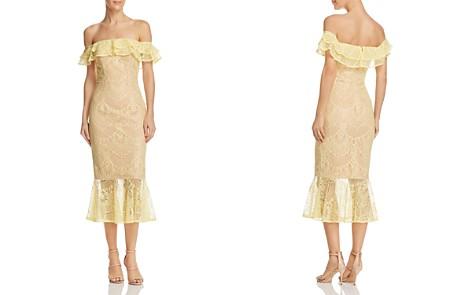 Jarlo Toril Off-the-Shoulder Lace Dress - Bloomingdale's_2
