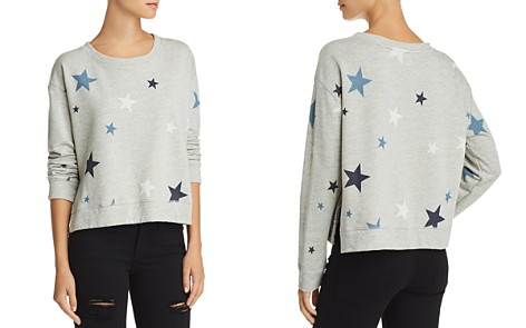 Sundry Stars Side-Slit Sweatshirt - Bloomingdale's_2