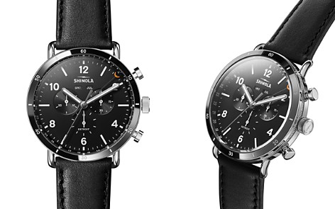 Shinola Canfield Black Sport Chronograph, 45mm - Bloomingdale's_2