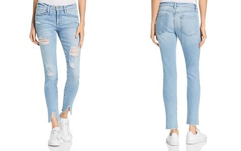 FRAME Le Skinny De Jeanne Split Hem Skinny Jeans in Highgate - Bloomingdale's_2