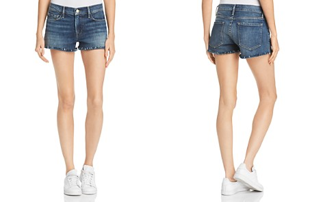 FRAME Le Cutoff Denim Shorts in Alden - Bloomingdale's_2