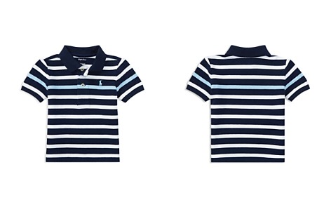 Ralph Lauren Boys' Mesh Striped Polo - Baby - Bloomingdale's_2