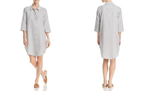 Eileen Fisher Striped Shirt Dress - Bloomingdale's_2