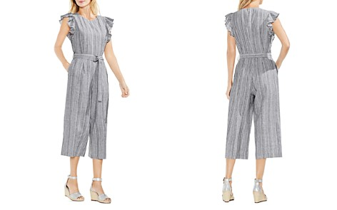 VINCE CAMUTO Belted Ruffle Jumpsuit - Bloomingdale's_2