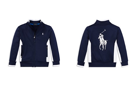 Polo Ralph Lauren Boys' Big Pony Track Jacket - Little Kid - Bloomingdale's_2