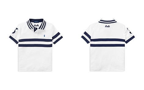 Polo Ralph Lauren Boys' Moisture-Wicking Striped Polo - Little Kid - Bloomingdale's_2