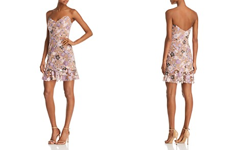 For Love & Lemons Embroidered Mini Dress - Bloomingdale's_2