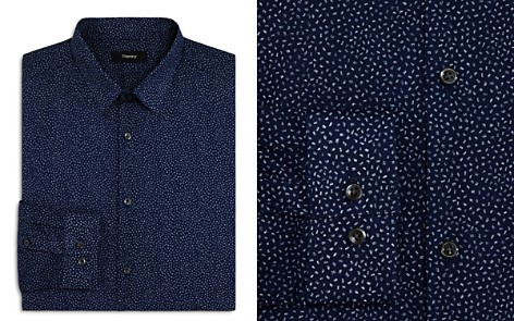 Theory Speck Print Slim Fit Dress Shirt - Bloomingdale's_2