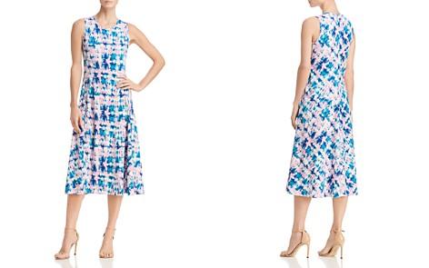 Donna Karan Sleeveless Tie-Dye Dress - Bloomingdale's_2