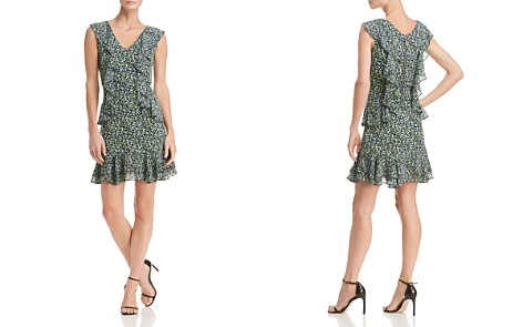 MICHAEL Michael Kors Floral-Print Ruffle Dress - Bloomingdale's_2