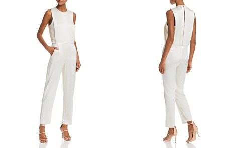 Theory Remaline Pinafore Sateen Jumpsuit - Bloomingdale's_2