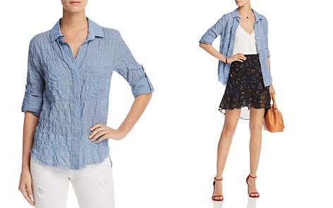 Bella Dahl Smocked Split-Back Shirt - Bloomingdale's_2
