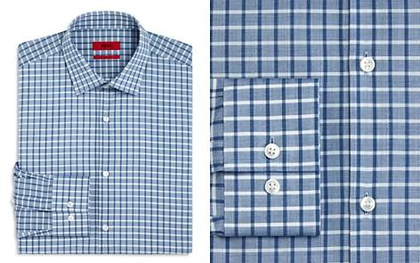 HUGO Check Slim Fit Dress Shirt - Bloomingdale's_2