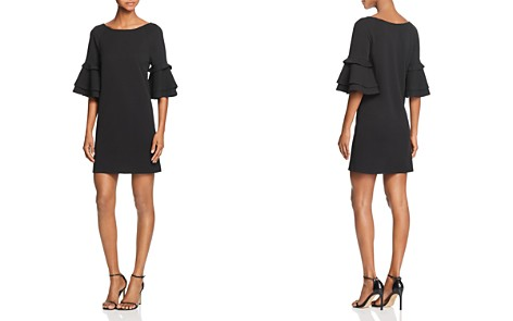 AQUA Bell Sleeve Shift Dress - 100% Exclusive - Bloomingdale's_2