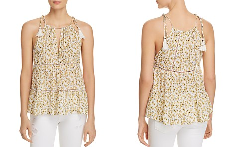 Lost + Wander Sleeveless Floral-Print Prairie Top - Bloomingdale's_2