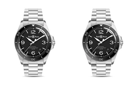Bell & Ross BR V2-92 Black Steel Watch, 41mm - Bloomingdale's_2