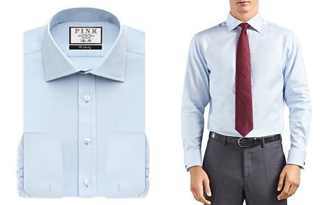 Thomas Pink Timothy Herringbone Dress Shirt - Bloomingdale's Regular Fit _2
