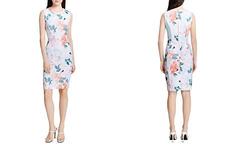 Calvin Klein Sleeveless Floral-Print Dress - Bloomingdale's_2