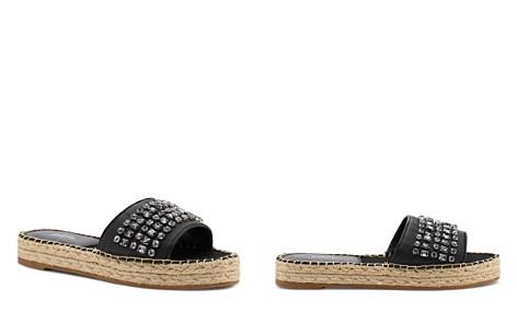Botkier Women's Julie Leather Espadrille Slide Sandals - Bloomingdale's_2