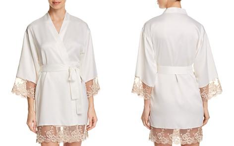 Flora Nikrooz Rosa Charmeuse Kimono - Bloomingdale's_2