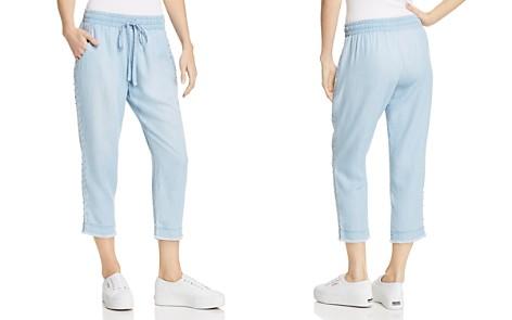 Bella Dahl Beaded Chambray Pants - Bloomingdale's_2