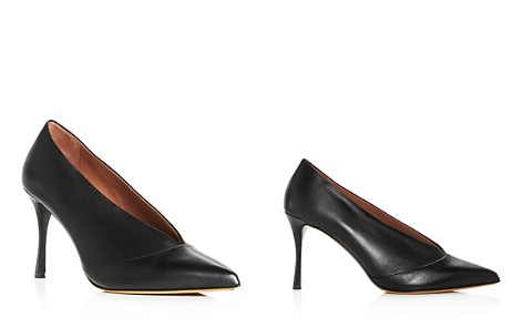 Tabitha Simmons Women's Strike Leather Pointed Toe Pumps - Bloomingdale's_2