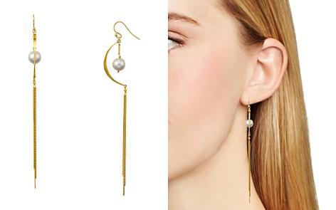 Chan Luu Cultured Freshwater Pearl Linear Drop Earrings - Bloomingdale's_2