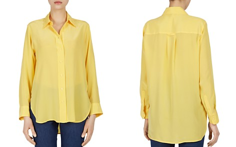 Gerard Darel Carla Silk Button-Down Top - 100% Exclusive - Bloomingdale's_2