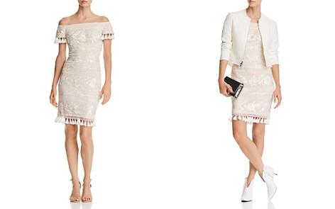 Tadashi Shoji Off-the-Shoulder Lace Dress - Bloomingdale's_2