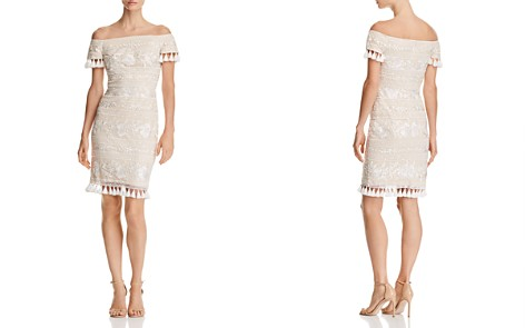Tadashi Shoji Off-the-Shoulder Lace Dress - Bloomingdale's_2