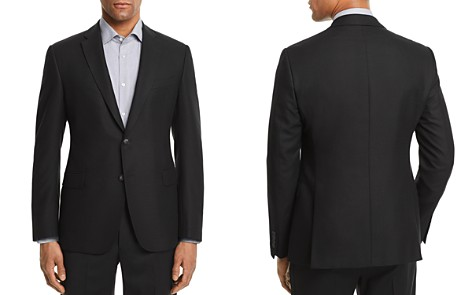 Emporio Armani Solid Patterned Slim Fit Sport Coat - Bloomingdale's_2