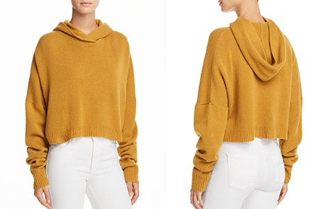 Theory Cashmere Drop Shoulder Hoodie - Bloomingdale's_2