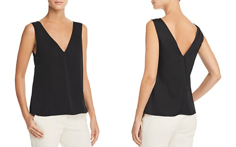 Theory Stretch Silk Tank - Bloomingdale's_2