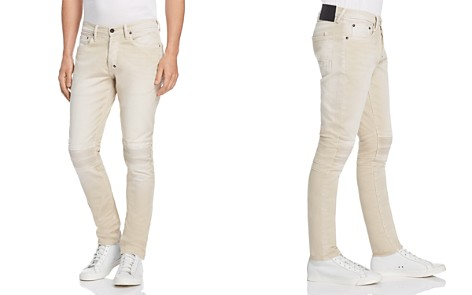 PRPS Goods & Co. Moto Slim Fit Jeans in Stone - Bloomingdale's_2