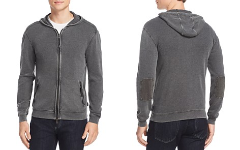John Varvatos Star USA Waffle Knit Zip Hoodie - Bloomingdale's_2