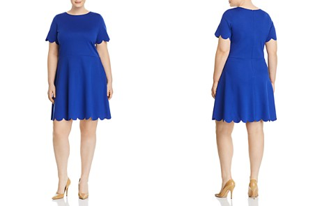 Love Ady Plus Scallop-Trimmed Dress - Bloomingdale's_2