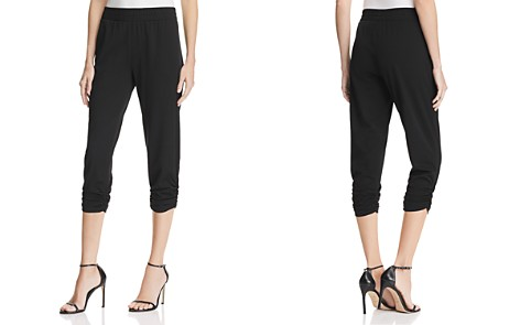 AQUA Ruched Cropped Jogger Pants - 100% Exclusive - Bloomingdale's_2