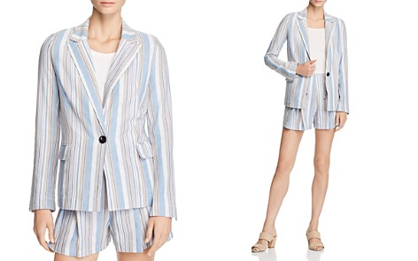 AQUA Striped Blazer - 100% Exclusive - Bloomingdale's_2