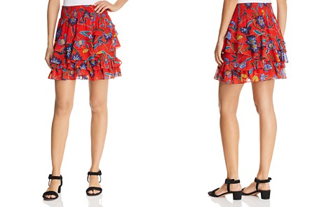 Rebecca Minkoff Lila Tiered Floral Skirt - Bloomingdale's_2