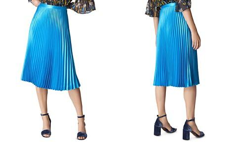 Whistles Pleated Satin Skirt - Bloomingdale's_2
