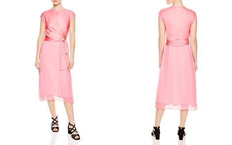 Sandro Janyce Pleated Midi Dress - Bloomingdale's_2