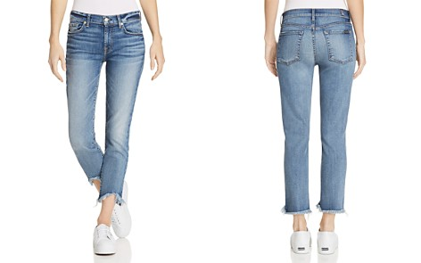 7 For All Mankind Roxanne Ankle Straight Jeans in Canyon Ranch - Bloomingdale's_2