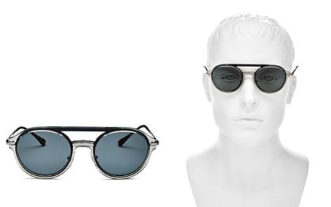 Prada Linea Rossa Spectrum Brow Bar Round Sunglasses, 62mm - Bloomingdale's_2