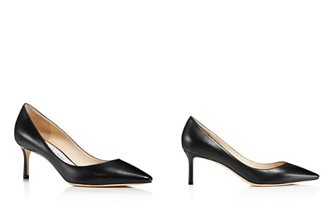 Jimmy Choo Women's Romy 60 Leather Pointed Toe Mid Heel Pumps - Bloomingdale's_2