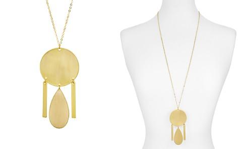"AQUA Disc, Teardrop & Tassels Pendant Necklace, 32"" - 100% Exclusive - Bloomingdale's_2"